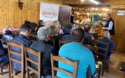 Recibimos la visita de la empresa italiana Demetra