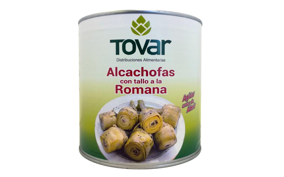 TOVAR comienza a distribuir alcachofas con su propia marca