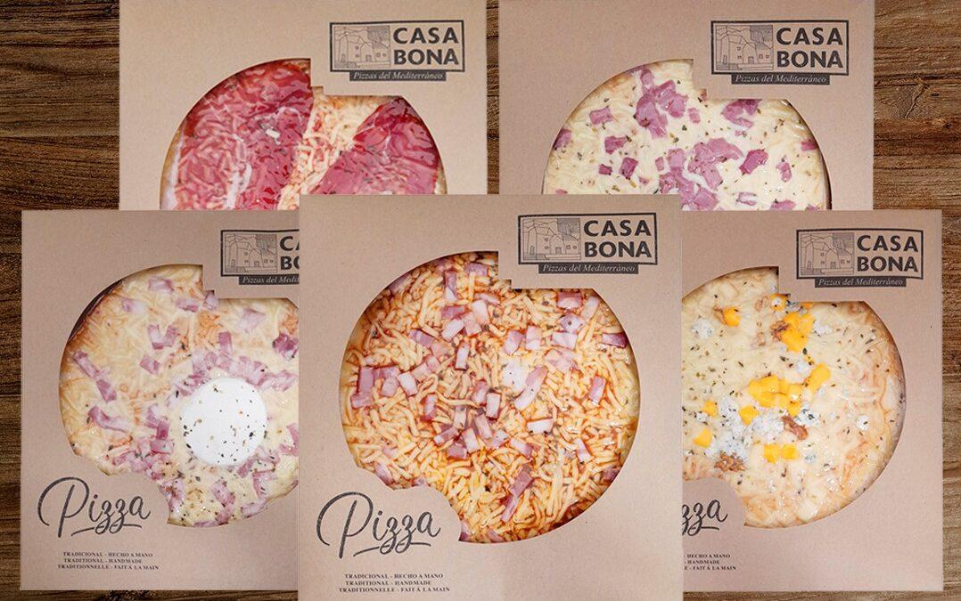Tovar distribuirá las artesanas pizzas Casa Bona