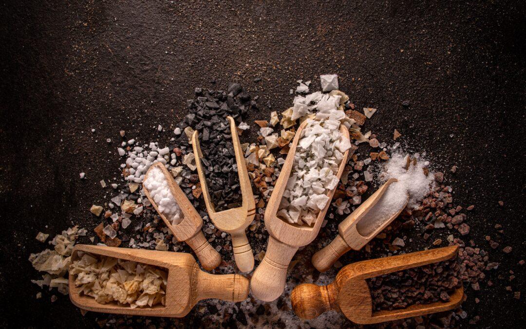 Descubre qué tipos de sal puedes usar en la cocina