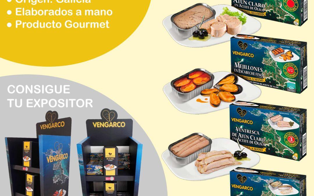 TOVAR añade a su catálogo de productos las conservas de pescado de Vengarco