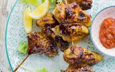 Receta de alitas de pollo Teriyaki